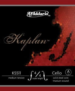 Kaplan 4/4 Cello A String - Medium Gauge